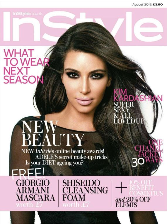 Miss Kardashian In Instyle Magazine